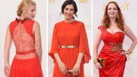 66. Emmy Ödülleri töreninde şıklık yarışı