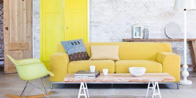 Dekorasyonda sarı renk nasıl kullanılır