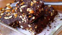 Yağsız, şekersiz, unsuz browni tarifi