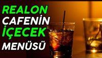 Realon Cafe nin İçecek Menüsünde Neler Vardır
