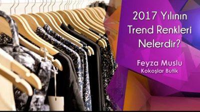 2017 Yılının Trend Renkleri Nelerdir