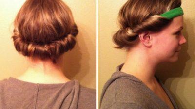 Maşasız dalgalı saçlar için 10 yöntem