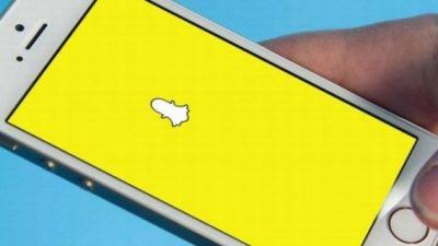 Snapchat'te devrim gibi
