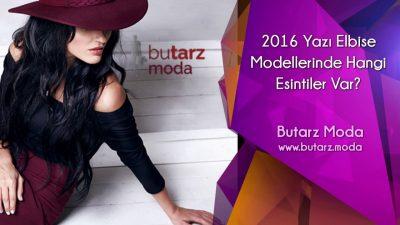 2016 Yazı Elbise Modellerinde Hangi Esintiler Var?