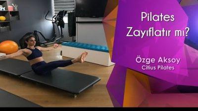 Pilates Zayıflatır mı