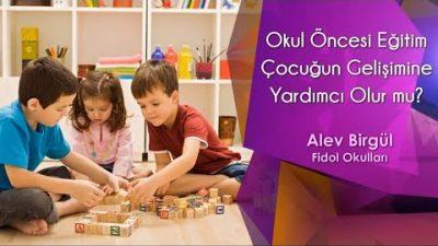 Okul Öncesi Eğitim Çocuğun Gelişimine Yardımcı Olur mu