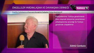 Engelliler Yardımlaşma ve Dayanışma Derneği nin Faaliyetleri Türkiye Genelinde mi