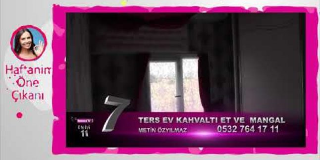 İstanbul'un En Ters Evi / Ters Ev Et ve Mangal